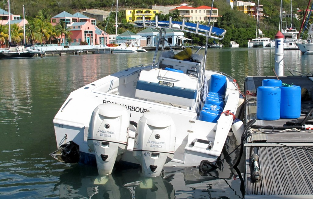 Boat Stability Tests in British Virgin Islands